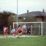 Sfida a calcio con gli amici di Minerbio - 1989